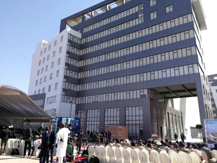 Inauguration des sphères ministérielles de Diamniadio