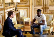 Mamoudou Gassama, héros en France