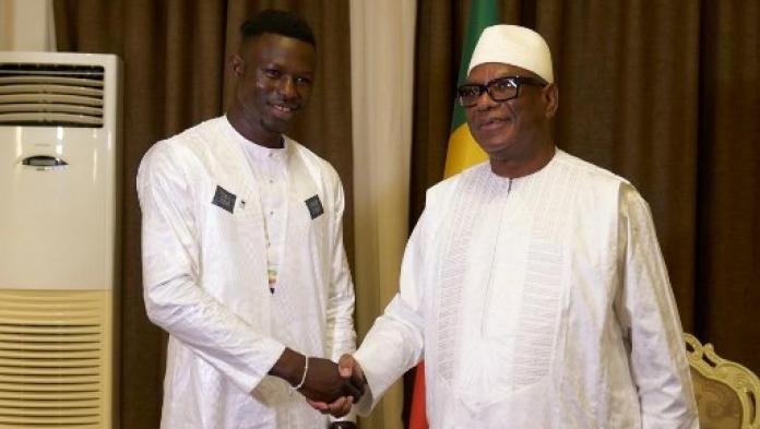 IBK a reçu Mamoudou Gassama