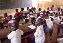 L'examen du CFEE à Tambacounda