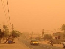 De la poussière sur Dakar