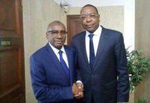 Mankeur Ndiaye félicité par Me Sidiki KABA