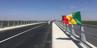 Le pont sur la Gambie inauguré