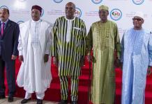 Les chefs d'Etat du G5 réunis au Burkina Faso