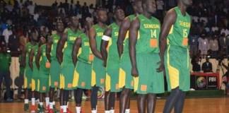 L'équipe de basket du Sénégal se prépare pour Abidjan
