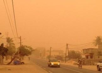 Dakar sous la poussière