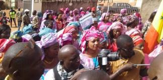 Les femmes de Kédougou dans le 8 mars