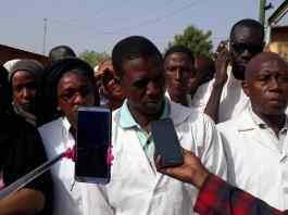 Les agents de santé communautaire de Kédougou en sit-in