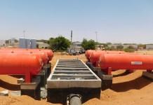 Nouveau système d'alimentation en eau de Dakar
