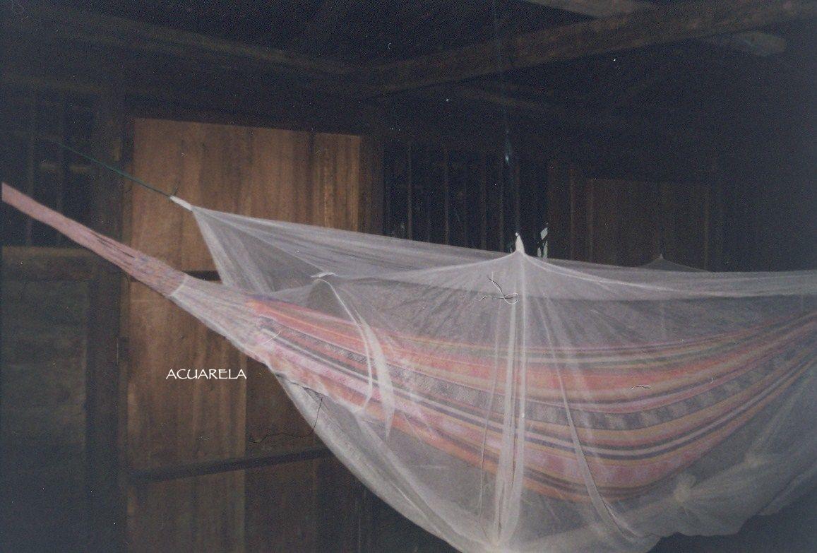 Durmiendo en hamaca