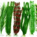 plantas plasticas de acuario