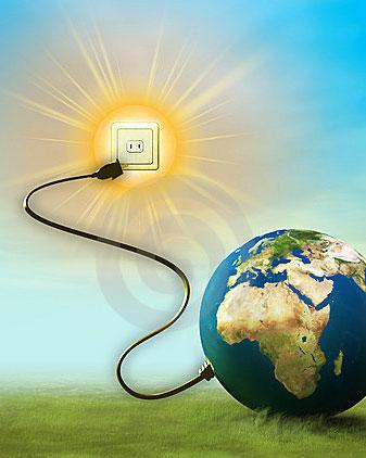 Energía Solar-Como Funciona