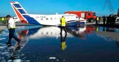 Accidente Aéreo en Cuba en el Aeropuerto Internacional José Martí
