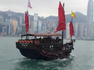 Hong Kong Junk | Victoria Harbour