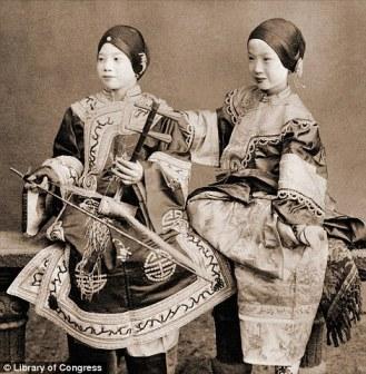 Hong Kong girls by American Benjamin W Kilburn