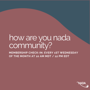 Save the Date! NADA's Upcoming Virtual Events