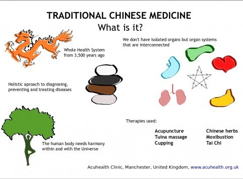 Infographic about Traditional Chinese Medicine