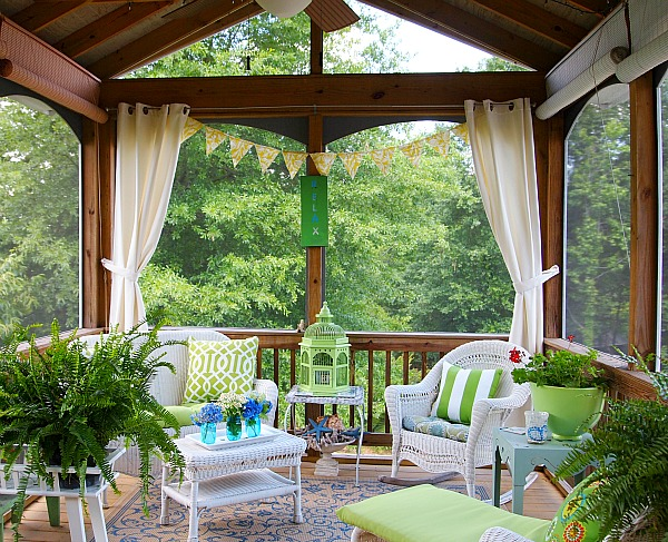 Screen Porch Decorating Ideas Budget