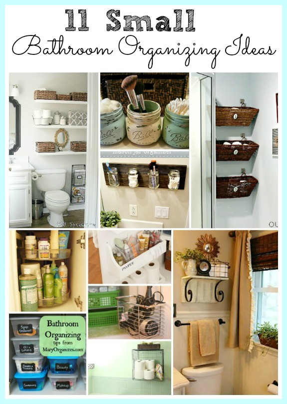 11 Fantastic Small Bathroom Organizing Ideas on Small Apartment Bathroom Storage Ideas  id=15055