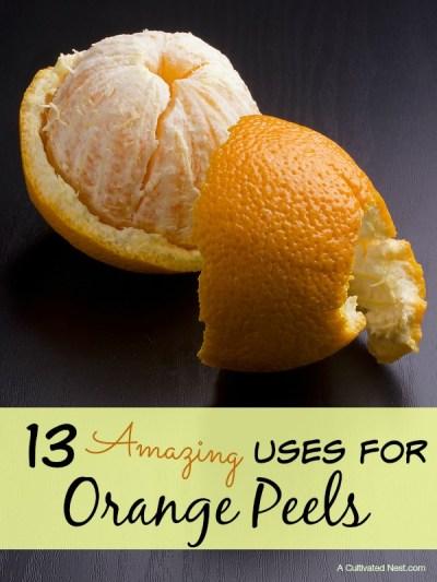13 Amazing Uses for Orange Peels
