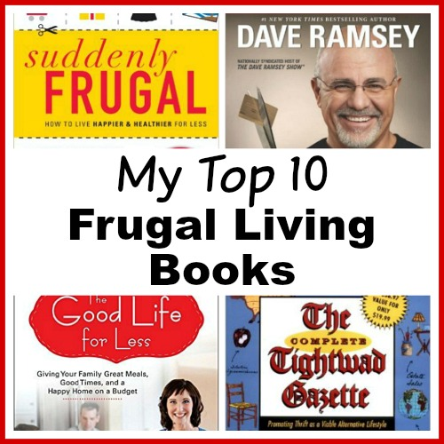 Top 10 Frugal Living Books- If you want to control your finances, you need to read the right books! Here are the top ten books everyone who wants to be frugal should read! | ways to save money, frugal living book, personal finance books, money books, #frugalLiving #moneySavingTips #ACultivatedNest