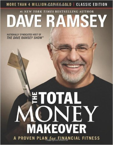 The Total Money Makeover- Top 10 Frugal Living Books- Want to change your finances? Then you need to read the right books! These 10 frugal living books will help you get control of your money! These make great gifts for college students, teenagers, and anyone wanting to improve their finances! | #saveMoney #frugal #ACultivatedNest