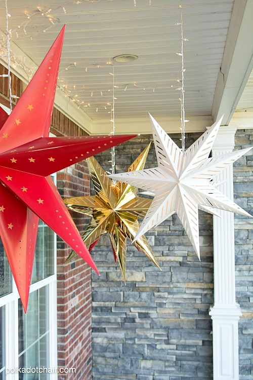 Easy Front Porch Christmas Decorations