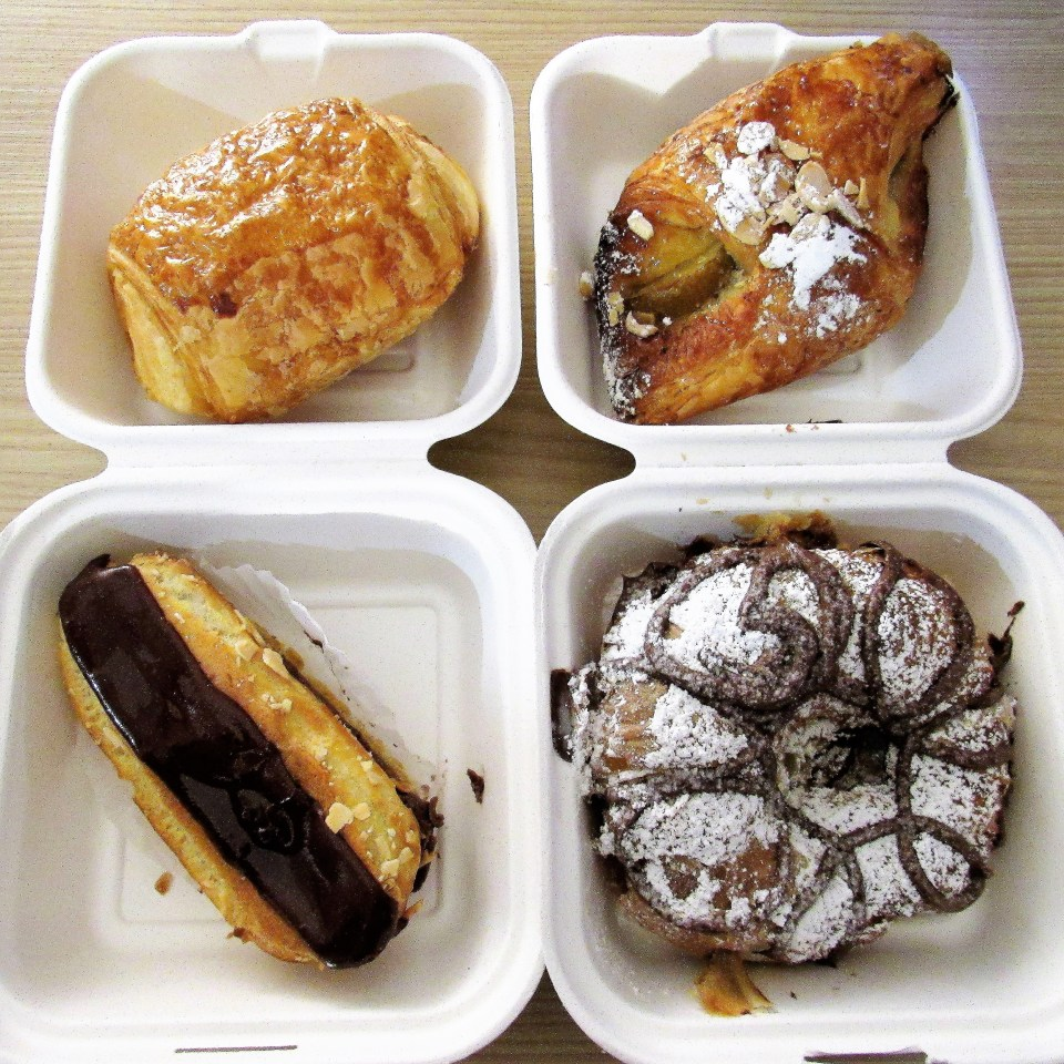 Pastries from La Creperie and French Bakery