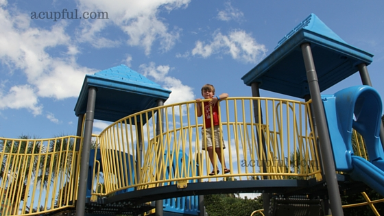 Disney World playground at Swan Hoetl review by acupful.com