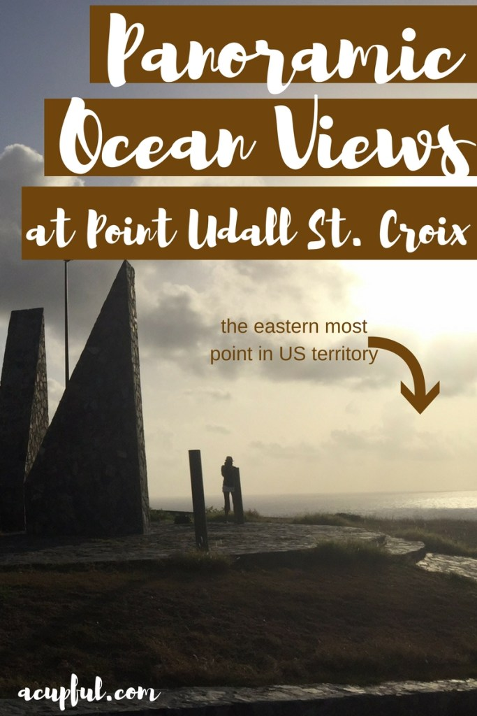 Point Udall St. Croix - perfect sunrise in us virgin islands - a cupful of carter's - mandy carter