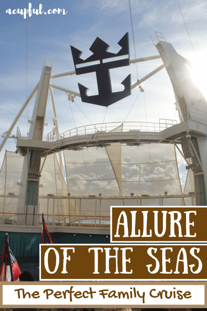 Allure of the Seas with kids