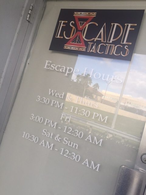 escape room fort myers, fl - escape tactics - a cupful of carters - things to do in Southwest Florida