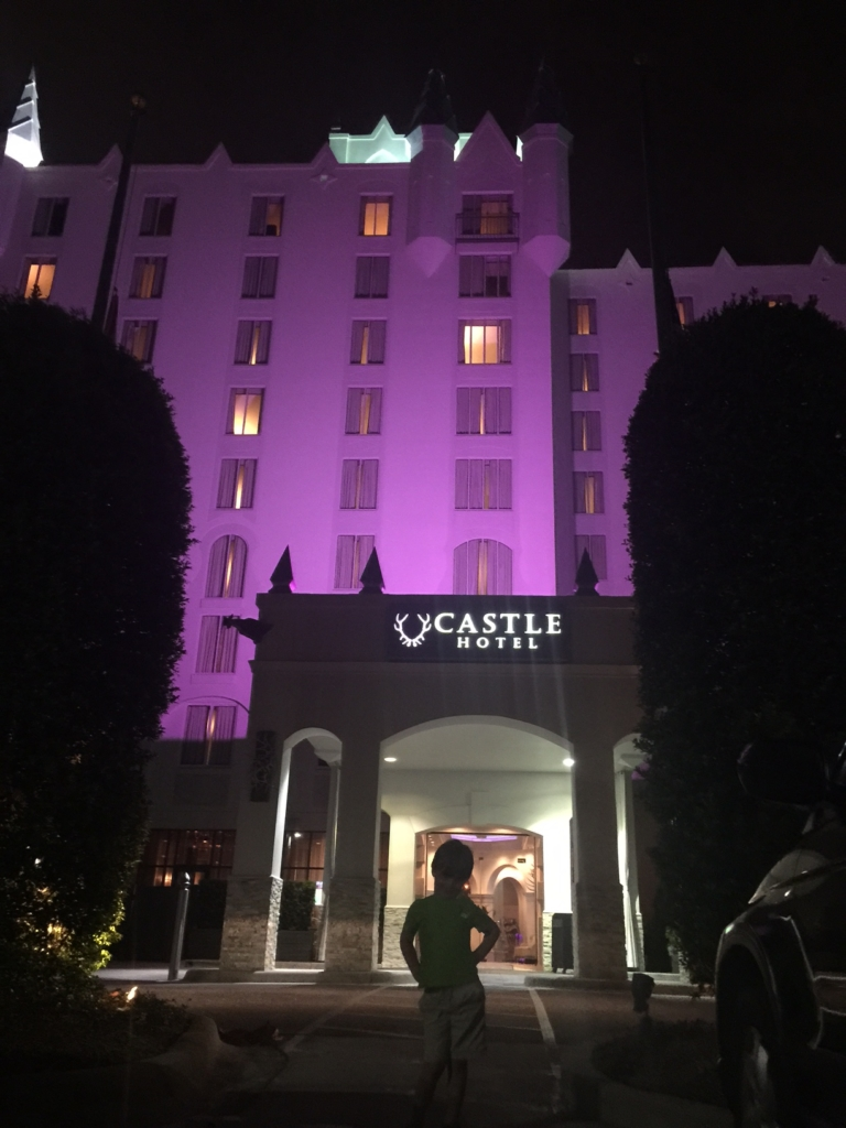 The Castle Hotel Orlando is family friendly