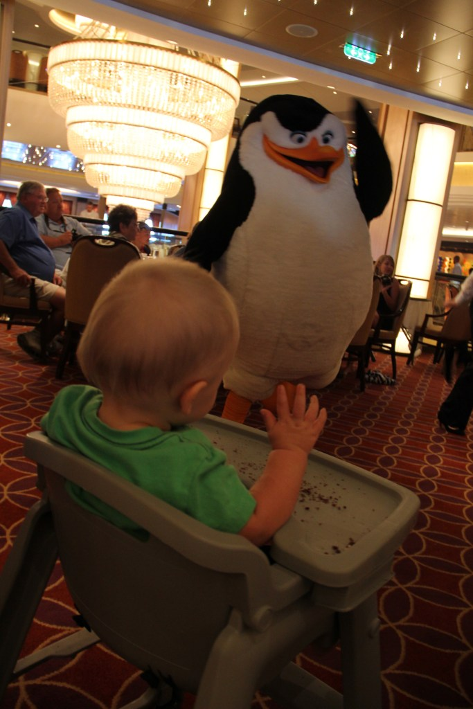 Dreamworks Breakfast on Allure of the Seas with kids