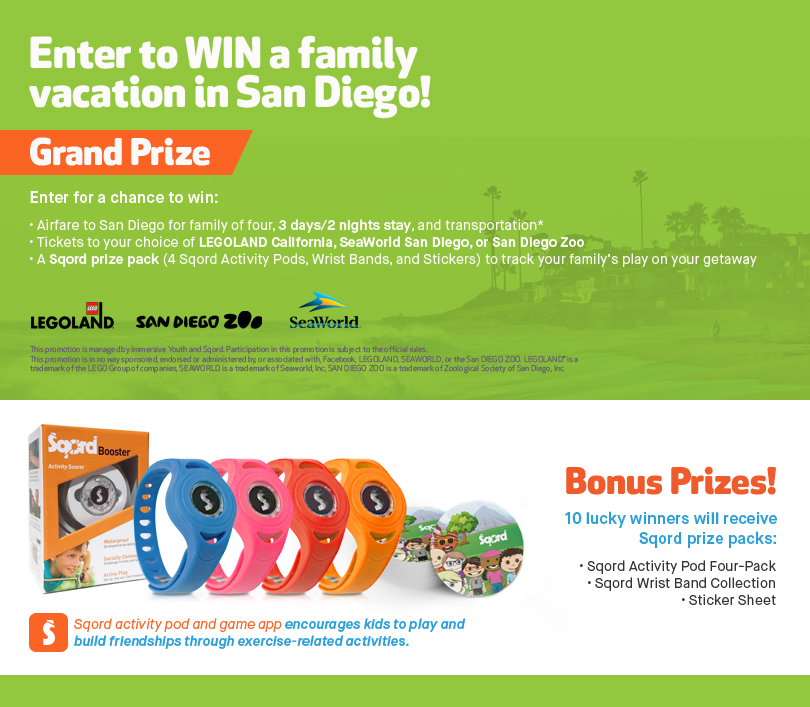 family trip to san diego sweepstakes - a cupful of carters