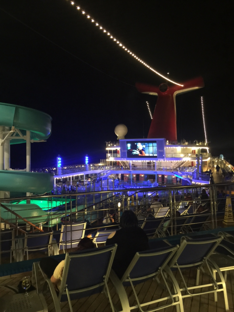 Carnival cruise aboard the Carnival Victory