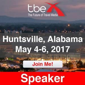 TBEX travel conference speaker - Mandy Carter