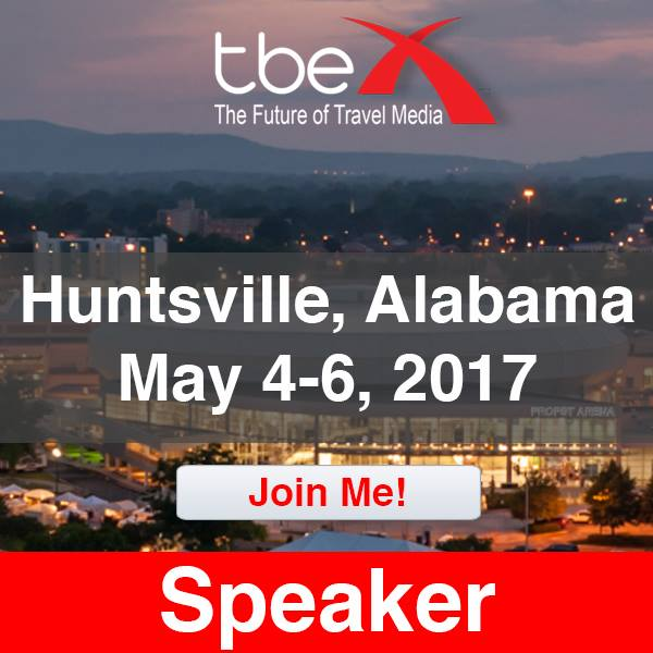 TBEX travel conference speaker - Mandy Carter