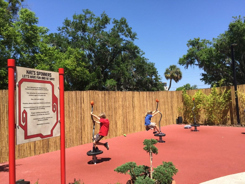 LEGOLAND NinJago World | Legoland Florida | Orlando theme parks | acupful.com | Mandy Carter | Legoland hotel benefits