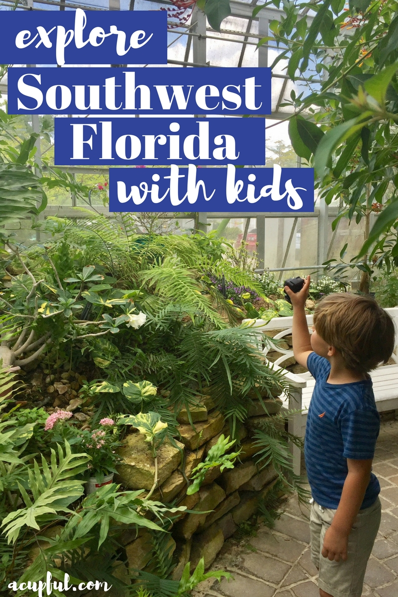 Things to do in Southwest Florida with kids | The Butterfly Estates Fort Myers | acupful.com | family travel blog | Ft Myers attractions | SWFL