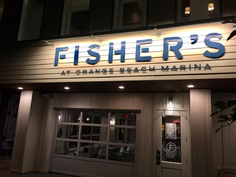 Fishers at Orange Beach Marina | Orange Beach Fine Dining | Best restaurant in Orange Beach | mandy carter travel writer | food blog | acupful.com | what to eat in Orange Beach | Gulf Shores restaurants | #AlBeachBlogger | #AlBeachBreakTBEX | upscale dining in Gulf Shores | #MandyCarter | James Beard Foundation Award Restaurant