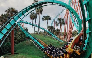 Florida roller coaster fun | Florida travel