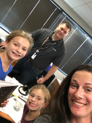 The Hammans are all smiles at eLend!