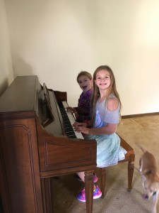 Pianists in the making