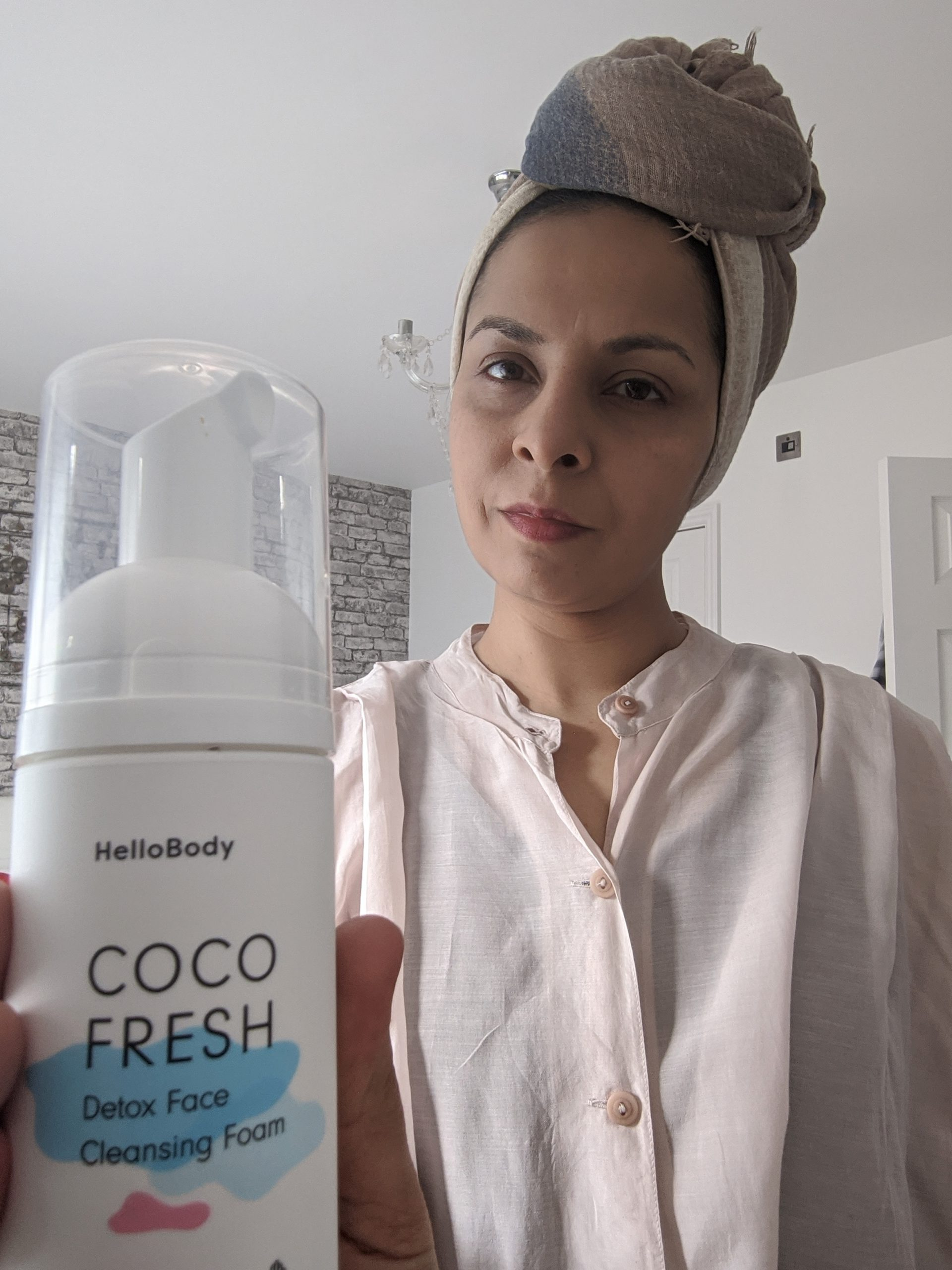 {Collab} I tried out Hello Body Coco Skincare Range