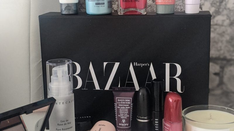 Lets take a Look Inside…Harpers Bazaar Beauty Box 2020