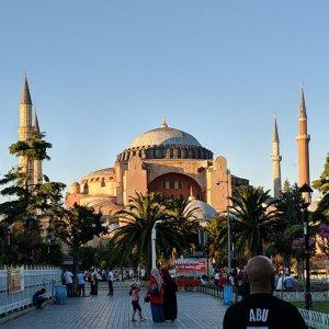 Istanbul Diaries, Day Two: Covid, Hagia Sophia, Eminunu, Eyup, Taksim Square