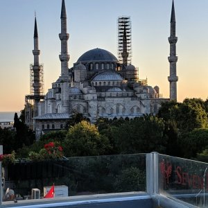 Istanbul Diaries. Day One: Covid, Hagia Sophia and The Blue Mosque