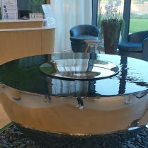 The Water feature at The Spa at Carden