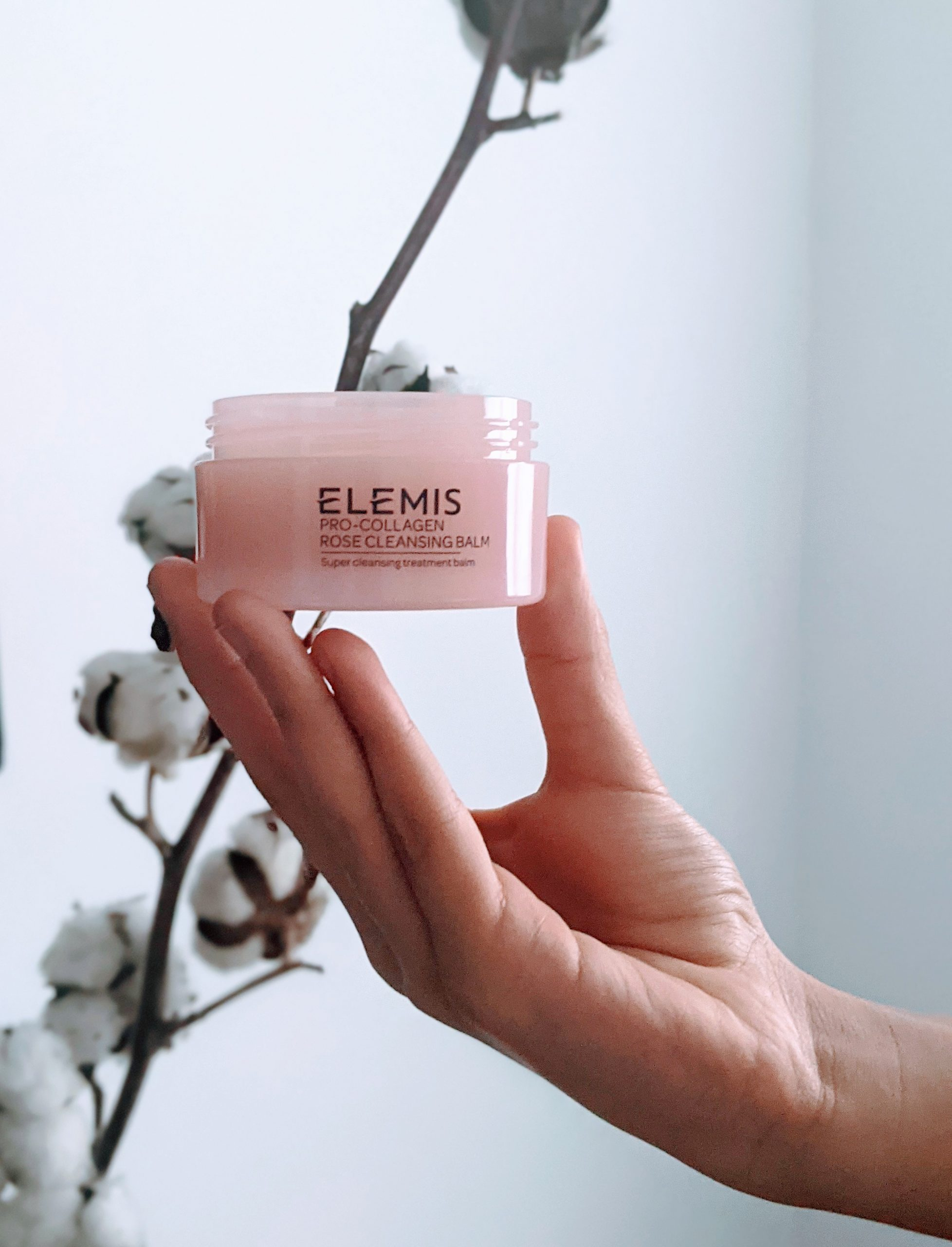 Elemis Rose Cleansing Balm- My Product Pick of the Month.